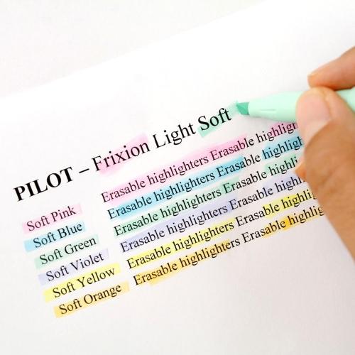 Pilot Frixion Silinebilir İşaretleme Kalemi Pastel Sarı 3845