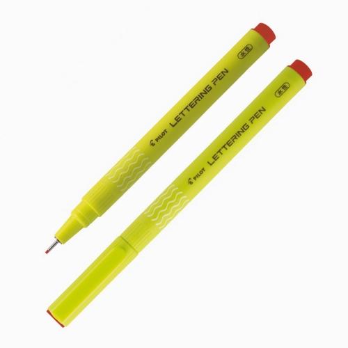 Pilot Lettering Pen 1.0 Kaligrafi Kalemi Kırmızı SWN-DRL-10-R 6519