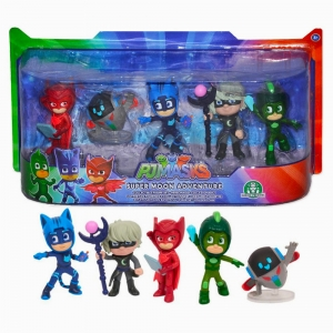 - PJMASKS Super Moon Adventure 5'li Figür 7628