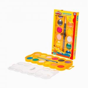 Play Doh - Play-Doh 12′li Jumbo Sulu Boya Seti PLAY-SU007 4608 (1)
