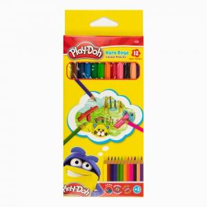 Play Doh - Play-Doh 12'li Kuru Boya Seti PLAY-KU001 0345