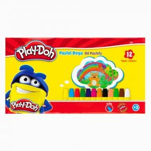 Play Doh - Play-Doh 12'li Pastel Boya Seti PLAY-PA002 0260