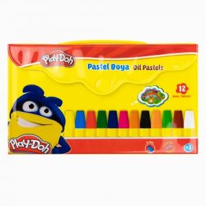 Play Doh - Play-Doh 12'li Pastel Boya Seti PLAY-PA005 1205