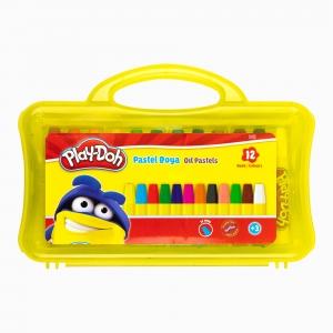 Play Doh - Play-Doh 12'li Pastel Boya Seti PLAY-PA009 5401