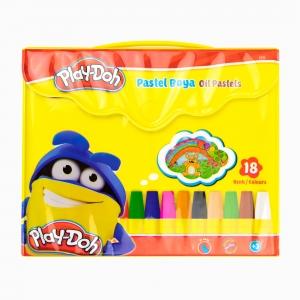 Play Doh - Play-Doh 18'li Pastel Boya Seti PLAY-PA006 1212