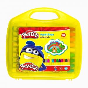 Play Doh - Play-Doh 18'li Pastel Boya Seti PLAY-PA010 5432