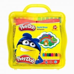 Play Doh - Play-Doh 24'lü Pastel Boya Seti PLAY-PA011 5463