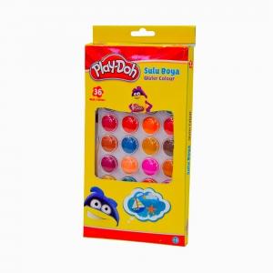Play Doh - Play-Doh 36'lı Sulu Boya Seti PLAY-SU010 2207
