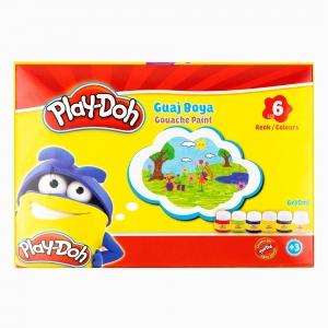 Play Doh - Play-Doh 6'lı Guaj Boya Seti PLAY-GU001 0574