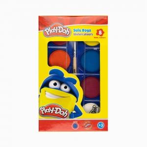 Play Doh - Play-Doh 8'li Sulu Boya Seti PLAY-SU001 0215