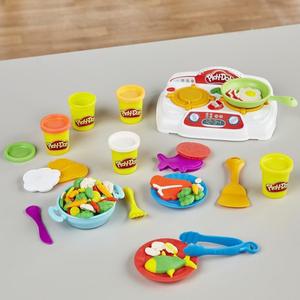 Play Doh - Play-Doh Cızz Bızz Ocak ve Oyun Hamuru B9014 2077 (1)