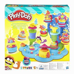 Play-Doh Cupcake Festivali ve Oyun Hamuru B1855 8650 - Thumbnail