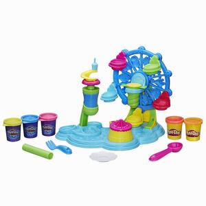 Play Doh - Play-Doh Cupcake Festivali ve Oyun Hamuru B1855 8650 (1)