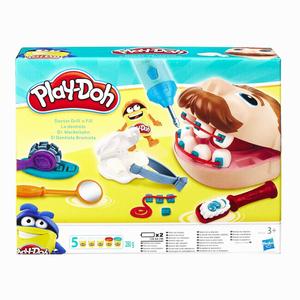 Play Doh - Play-Doh Dişçi Seti ve Oyun Hamuru B5520 6653