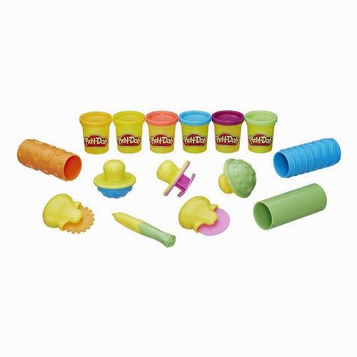 Play-Doh Dokuları Öğreniyorum Kalıp ve Oyun Hamuru B3408 5658