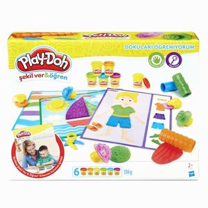 Play Doh - Play-Doh Dokuları Öğreniyorum Kalıp ve Oyun Hamuru B3408 5658