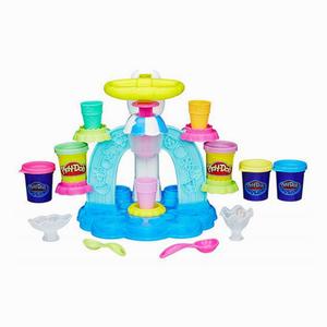 Play Doh - Play-Doh Dondurma Dükkanı ve Oyun Hamuru B0306 3980 (1)