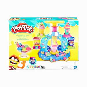 Play Doh - Play-Doh Dondurma Dükkanı ve Oyun Hamuru B0306 3980
