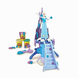 Play Doh - Play-Doh Frozen Elsa Saray ve Oyun Hamuru B5530 3850 (1)