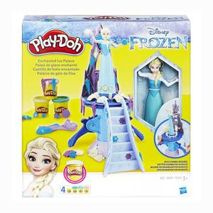Play Doh - Play-Doh Frozen Elsa Saray ve Oyun Hamuru B5530 3850
