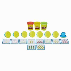 Play-Doh Rakamları ve Saymayı Öğreniyorum Kalıp ve Oyun Hamuru B3406 5436 - Thumbnail