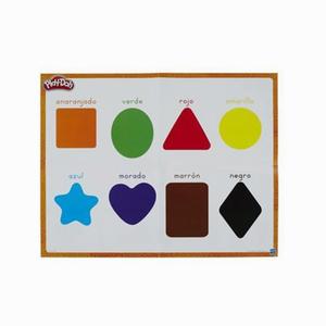 Play-Doh Renkleri ve Şekilleri Öğreniyorum Oun Hamuru ve Kalıpları B3404 5313 - Thumbnail