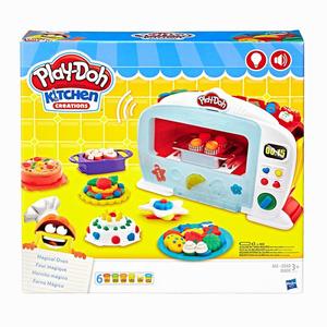 Play Doh - Play-Doh Sihirli Fırın ve Oyun Hamuru B9740 0137