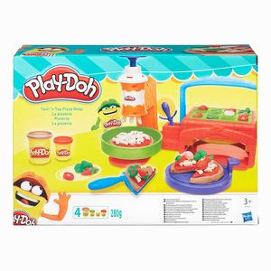Play-Doh Süper Pizzacı ve Oyun Hamuru B7418 6271 - Thumbnail