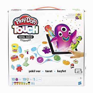 Play Doh - Play-Doh Touch Hayal Gücü Stüdyosu ve Oyun Hamuru C2860 4494