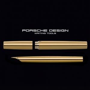 Porsche Design - Porsche Design P3135 Gold Solid Limited Edition Dolma Kalem M Uç (1)