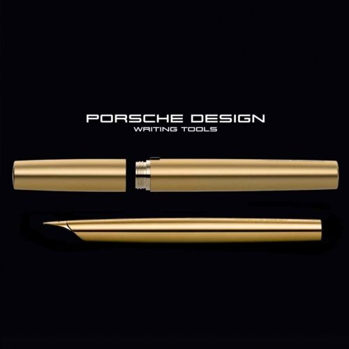Porsche Design P3135 Gold Solid Limited Edition Dolma Kalem M Uç