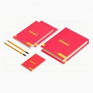 Rhodia - Rhoda Essential Box Set Çizgili Kırmızı 9736