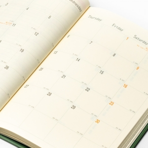 Rhodia 2022 Haftalık Ajanda Yatay Kullanım Turuncu 9529 - Thumbnail