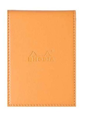 Rhodia A7 Deri Kılıflı No:11 Sarı
