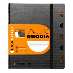 Rhodia - Rhodia Exa Book A4 Akademik Çizgili Defter