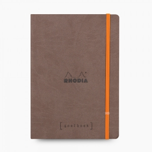 Rhodia - Rhodia Goalbook A5 Dot (Noktalı) Defter Chocolate 7433