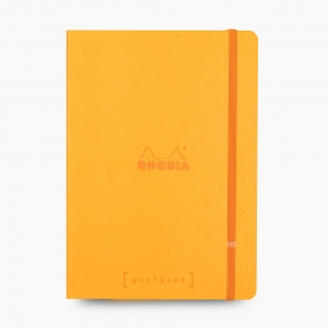 Rhodia - Rhodia Goalbook A5 Dot (Noktalı) Defter Orange 7556