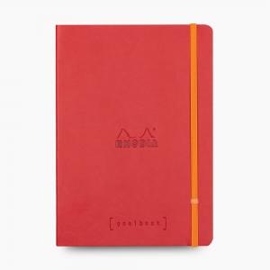 Rhodia - Rhodia Goalbook A5 Dot (Noktalı) Defter Poppy 7532