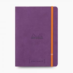 Rhodia - Rhodia Goalbook A5 Dot (Noktalı) Defter Purple 7501