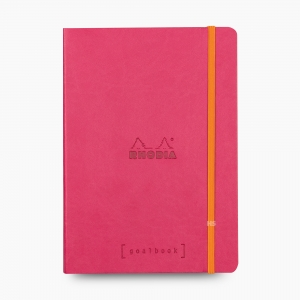 Rhodia - Rhodia Goalbook A5 Dot (Noktalı) Defter Raspberry 7525