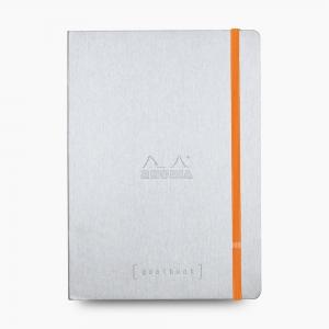 Rhodia - Rhodia Goalbook A5 Dot (Noktalı) Defter Silver 7419
