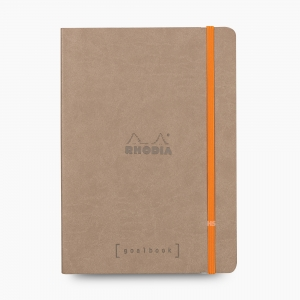 Rhodia - Rhodia Goalbook A5 Dot (Noktalı) Defter Taupe 7440