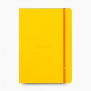 Rhodia - Rhodia Goalbook A5 Dot (Noktalı) Defter Yellow 7563