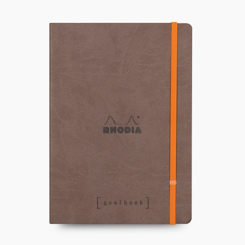 Rhodia Goalbook A5 Kareli Defter Chocolate 7631