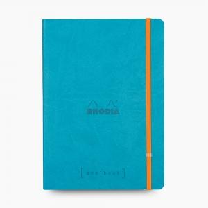 Rhodia - Rhodia Goalbook A5 Kareli Defter Turquoise 7679