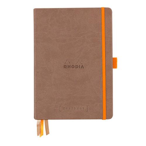 Rhodia Goalbook Sert Kapak A5 Dot (Noktalı) Defter Taupe 118774C 7746