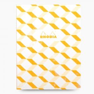 Rhodia - Rhodia Heritage Açık Dikiş 19x25cm Çizgili 160 Sayfa Defter Limited Edition Los Angeles 174227