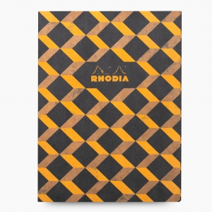 Rhodia - Rhodia Heritage 19x25cm Çizgili 64 Sayfa Defter Limited Edition Barcelona 171127