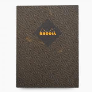 Rhodia - Rhodia Heritage 19x25cm Çizgili 64 Sayfa Defter Limited Edition Rome 171110