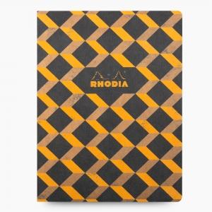 Rhodia - Rhodia Heritage Açık Dikiş 19x25cm Kareli 160 Sayfa Defter Limited Edition Barcelona 174821